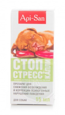 Стоп-стресс капли д/собак 15 мл
