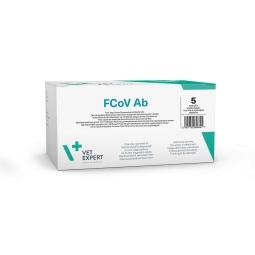 Тест для выявления инфекционного перитонита FCoV Ab (5 тестов)