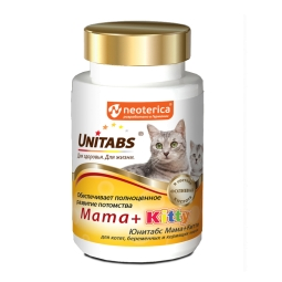 Витамины UNITABS Mama-KITTI таблетки / бан х 120 табл.