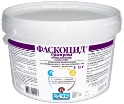 ФАСКОЦИД гранулят антигельминтик для с/х,1 кг (кор/8 шт)