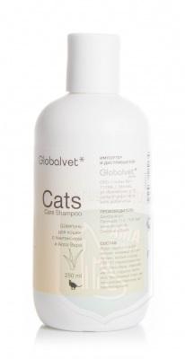Глобал-Вет шампунь для кошек с пантенолом и Алоэ Вера, 250мл