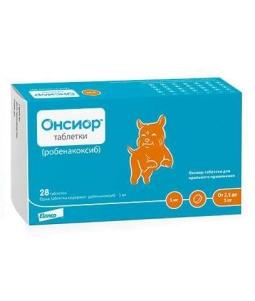 ОНСИОР ТМ Таблетки д/собак 2,5-5 кг, 5 мг (28 таб)