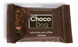 ШоколадCHOCO DOG темный 15 г
