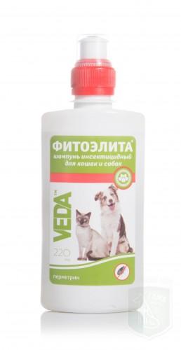 Шампунь фитоэлита инсектицидный для домашних животных