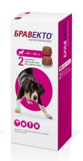 БРАВЕКТО д/собак 40-56 кг от блох и клещей, 2 ТАБ*1400 мг